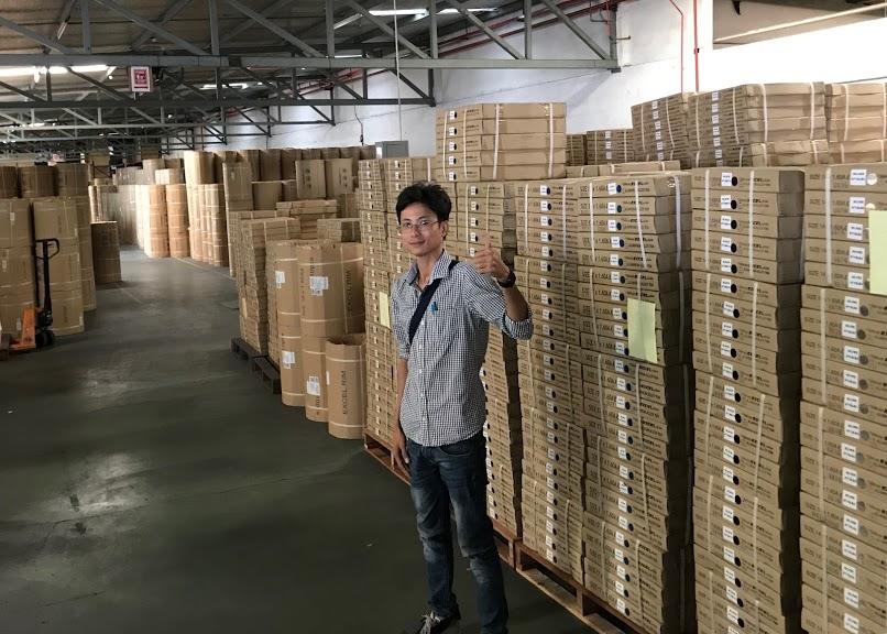 Trọng Tín thăm nhà máy Excel Rim Asia